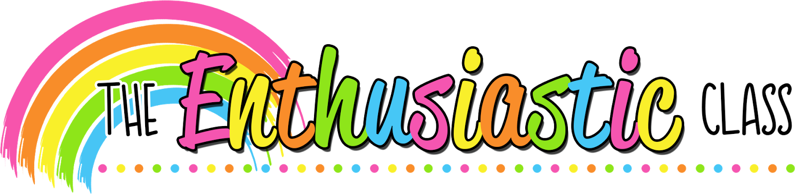 the enthusiastic class. July clipart header