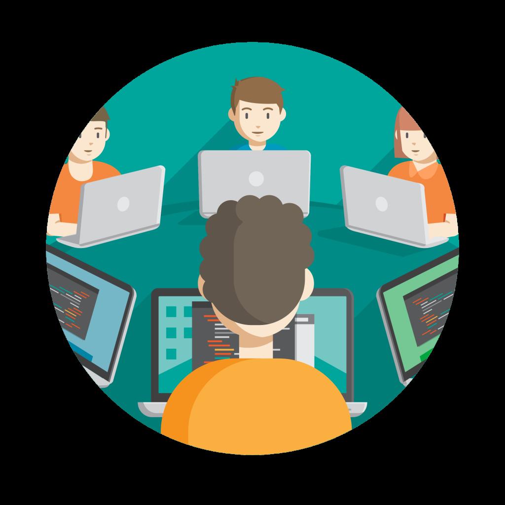Launch a class development. Professional clipart professional education