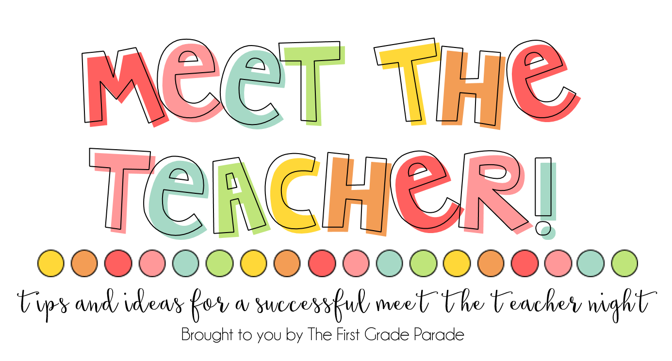 Conference clipart reminder. Meet the teacher tips