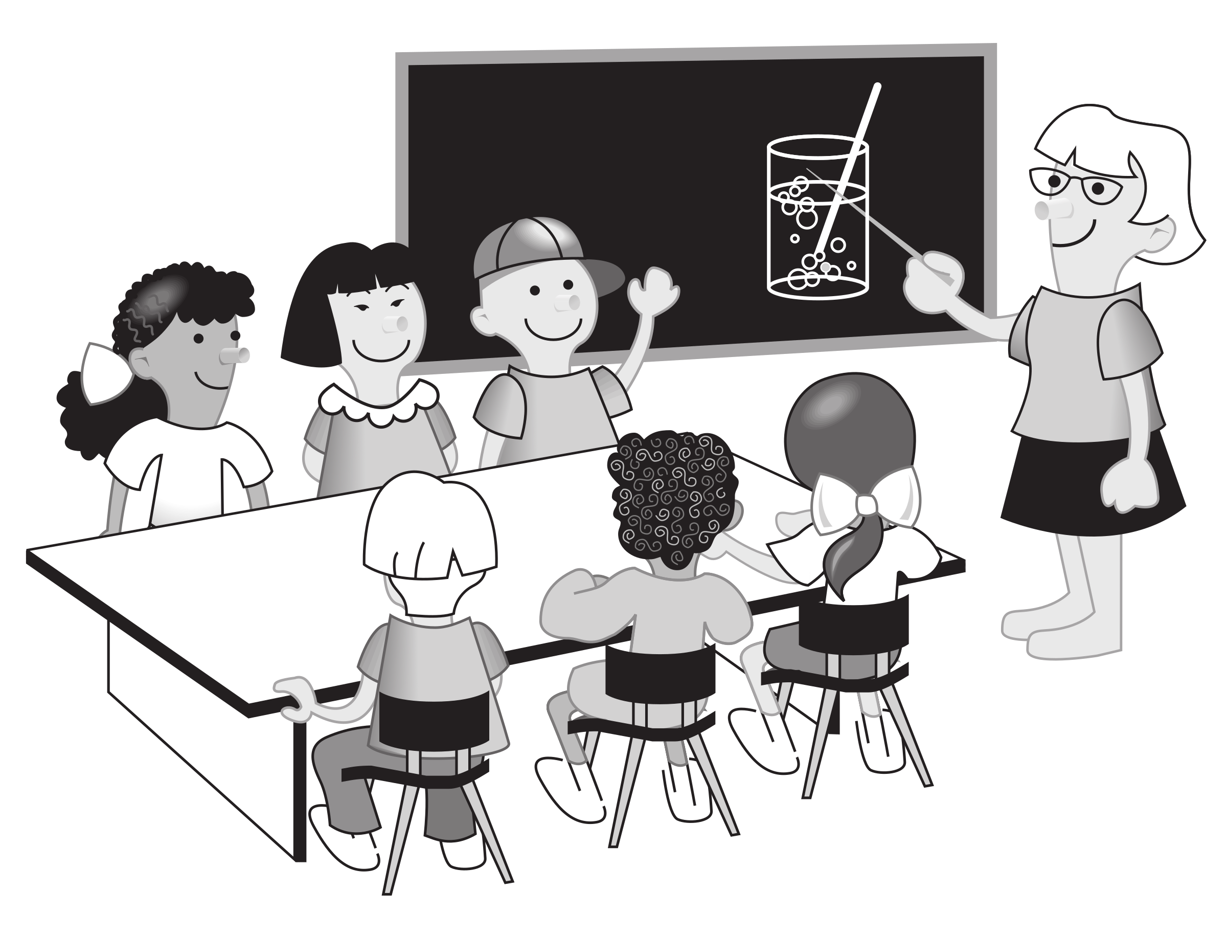 collection of classroom. Student clipart icon