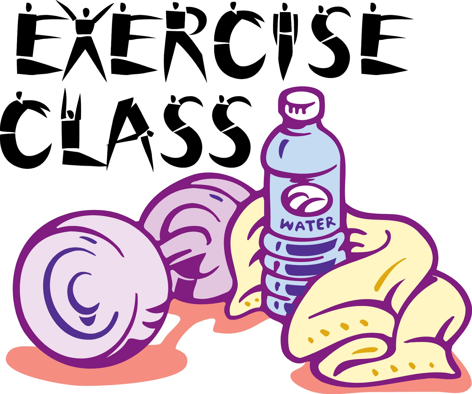Exercise clipart fitness class. Free cliparts download clip