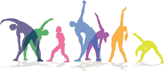 Cliparts free download best. Clipart exercise fitness class
