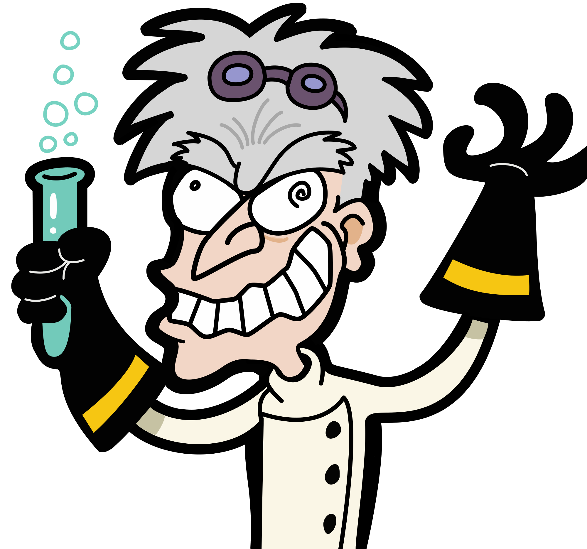 Excited clipart enjoyable. File mad scientist transparent