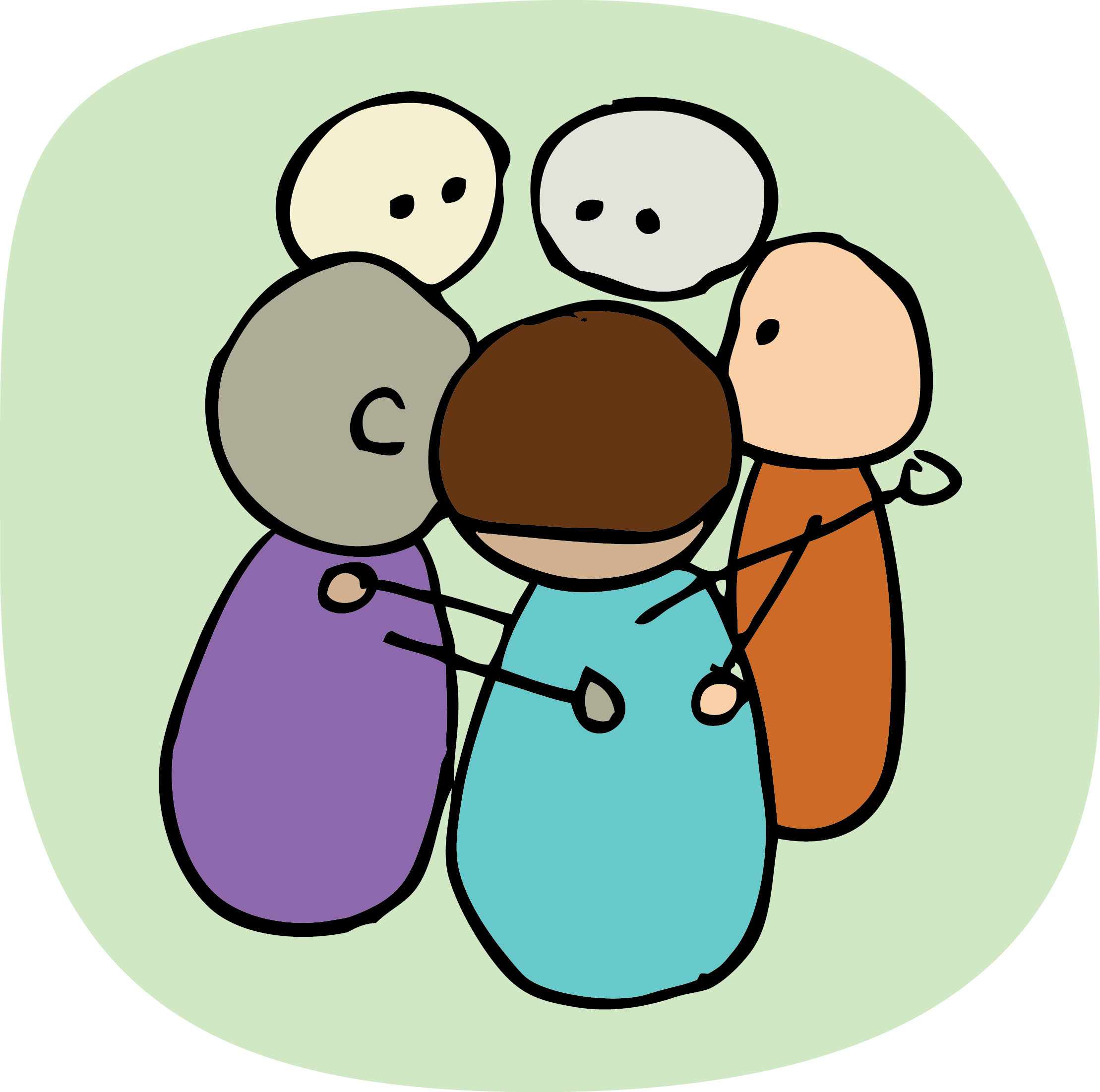 Introduction to problem solving. Discussion clipart circle