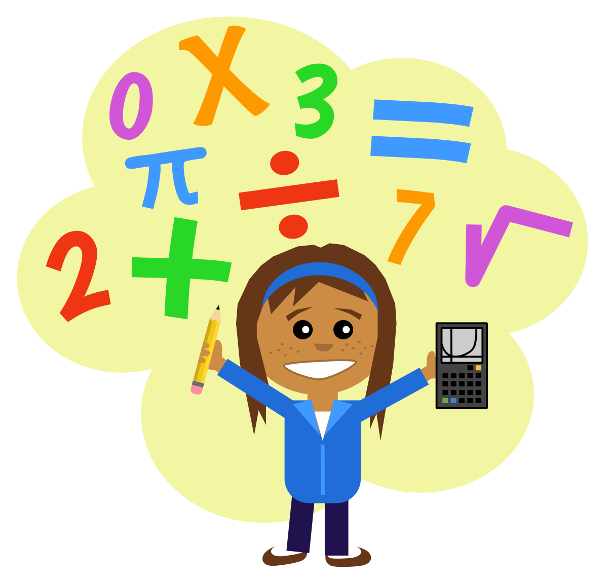 Happy panda free images. Learning clipart student math