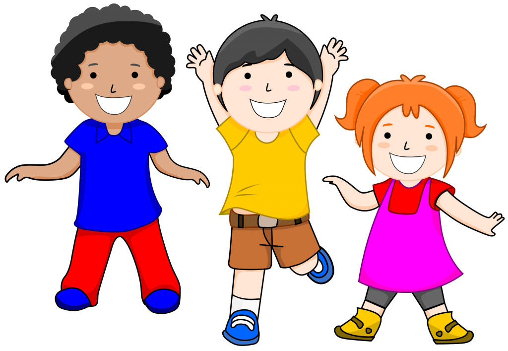Dot clipart kid. Children smiling kids clipartxtras