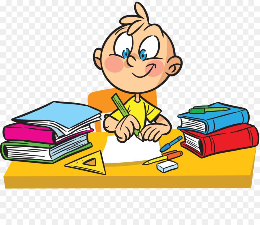 Reading cartoon school yellow. Class clipart lesson