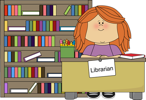 Library clipart classroom library. The librarian job is