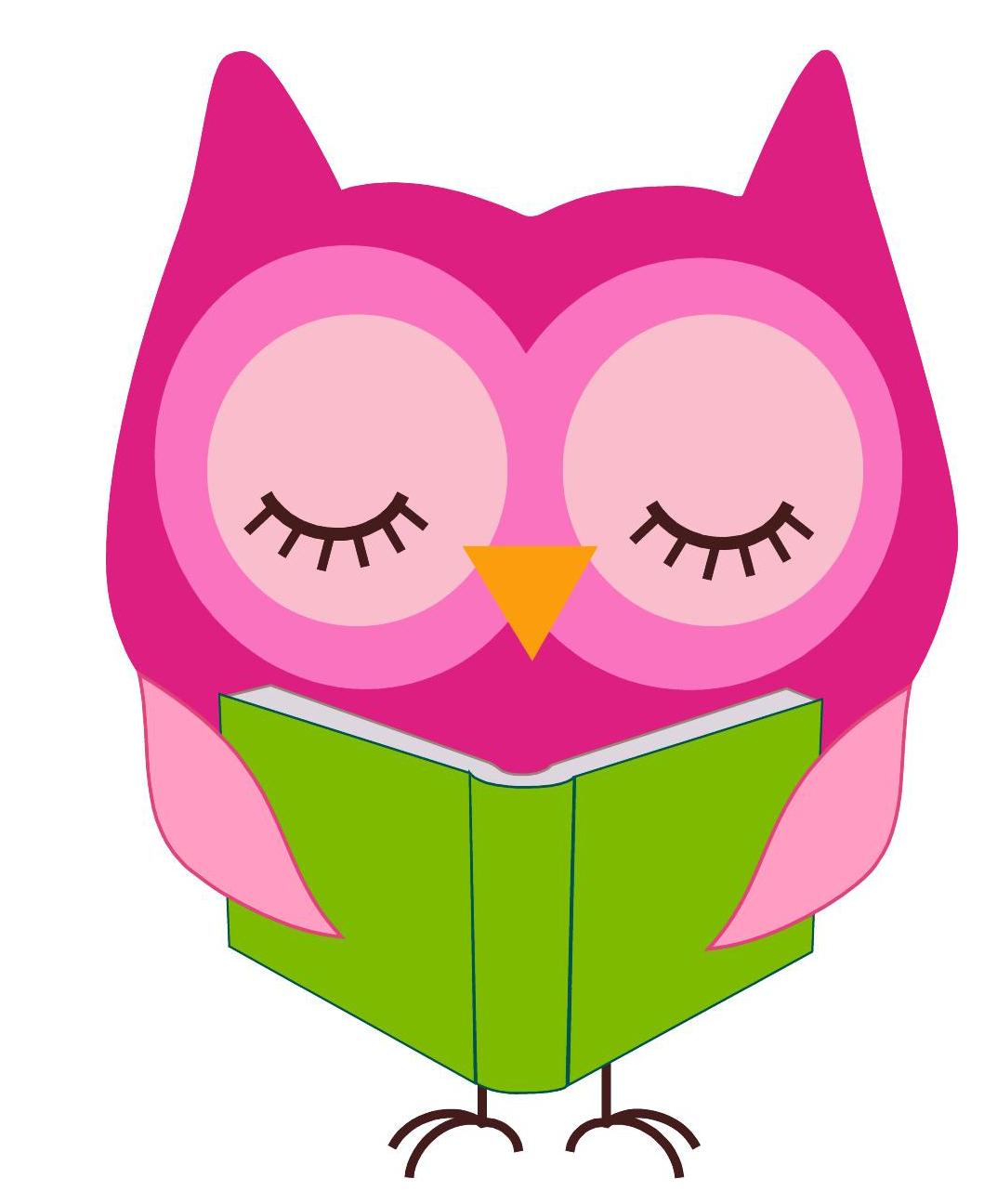 Owl clip art cliparts. Clipart reading reader