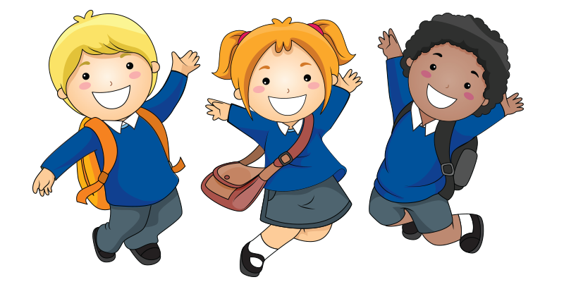 Diversity clipart in school. Uniform hollybank primary year
