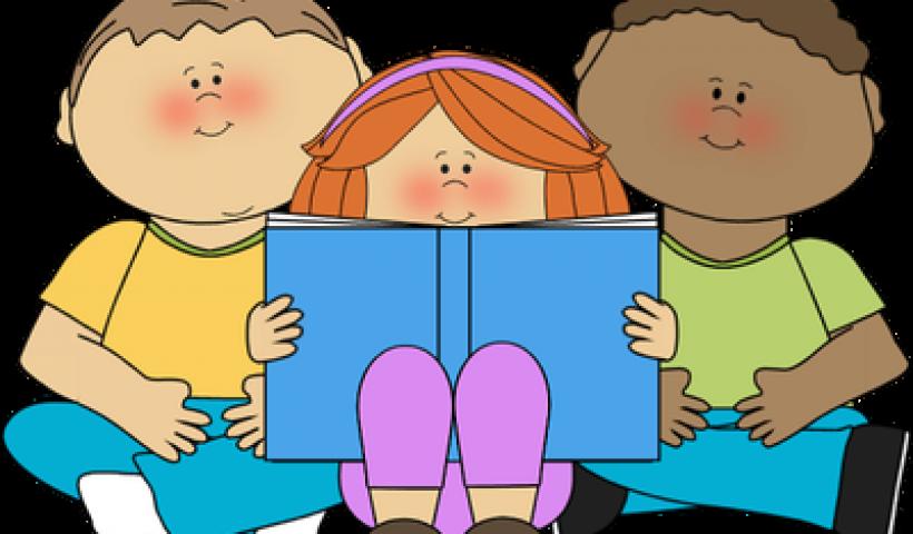 Clipart reading elementary. Buddy class tangent school