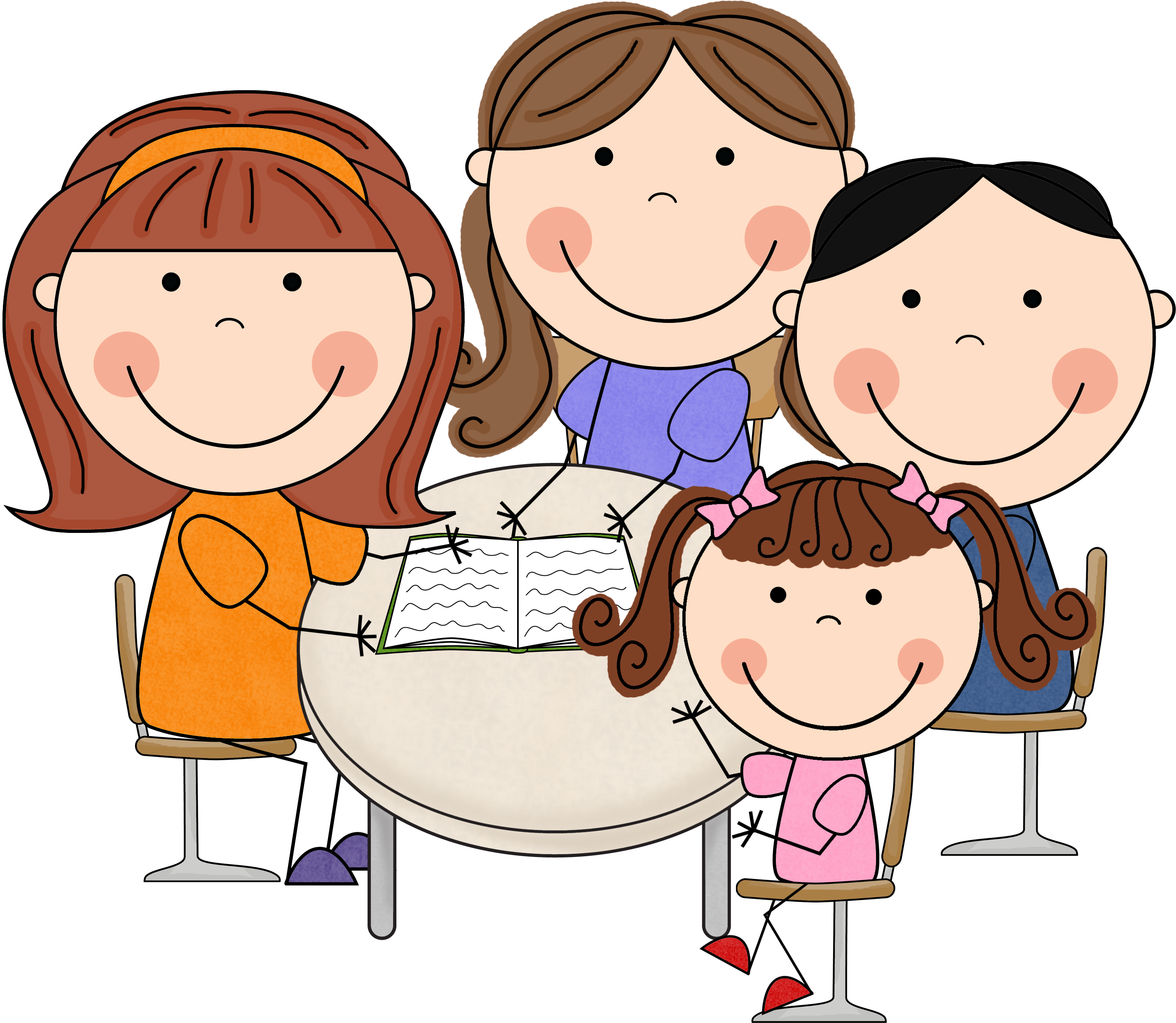 Free teacher table cliparts. Volunteering clipart parent helper