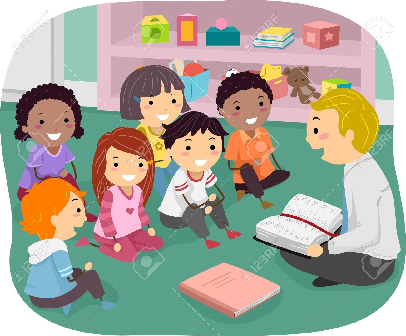 Stock illustration vbs bible. Class clipart school photography