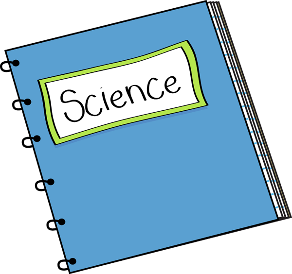 Science notebook free all. Textbook clipart french school