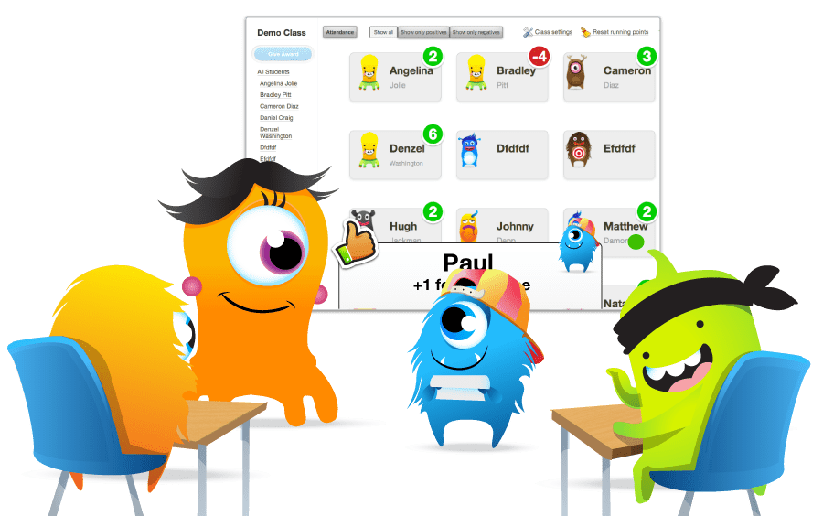 Tech tuesday class dojo. Wow clipart positive teacher
