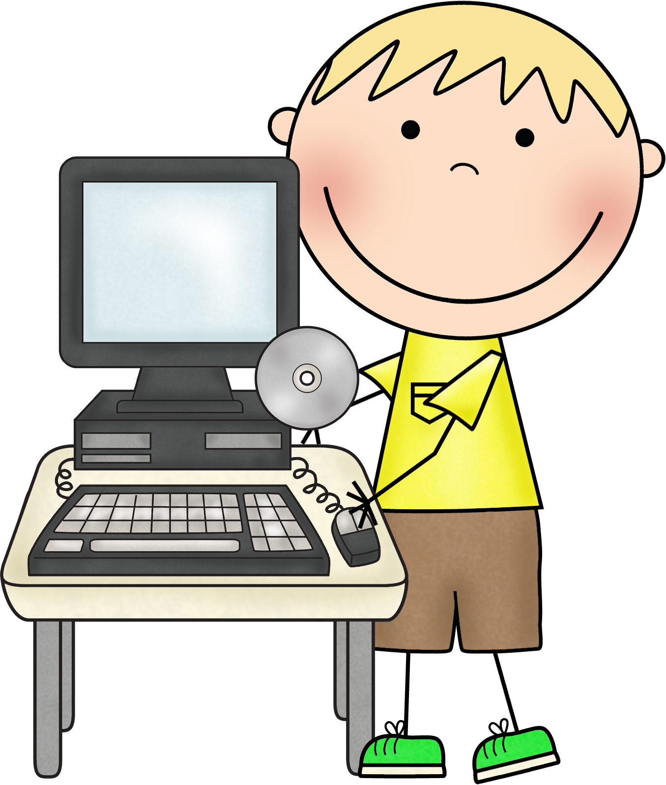 Index of images scrappin. Computer clipart classroom