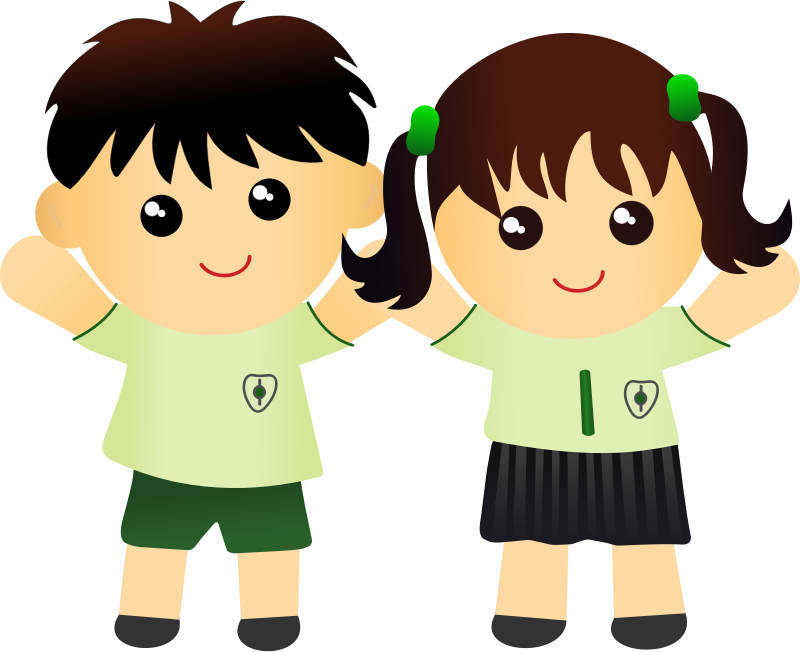 Clipart children fashion.  collection of neat
