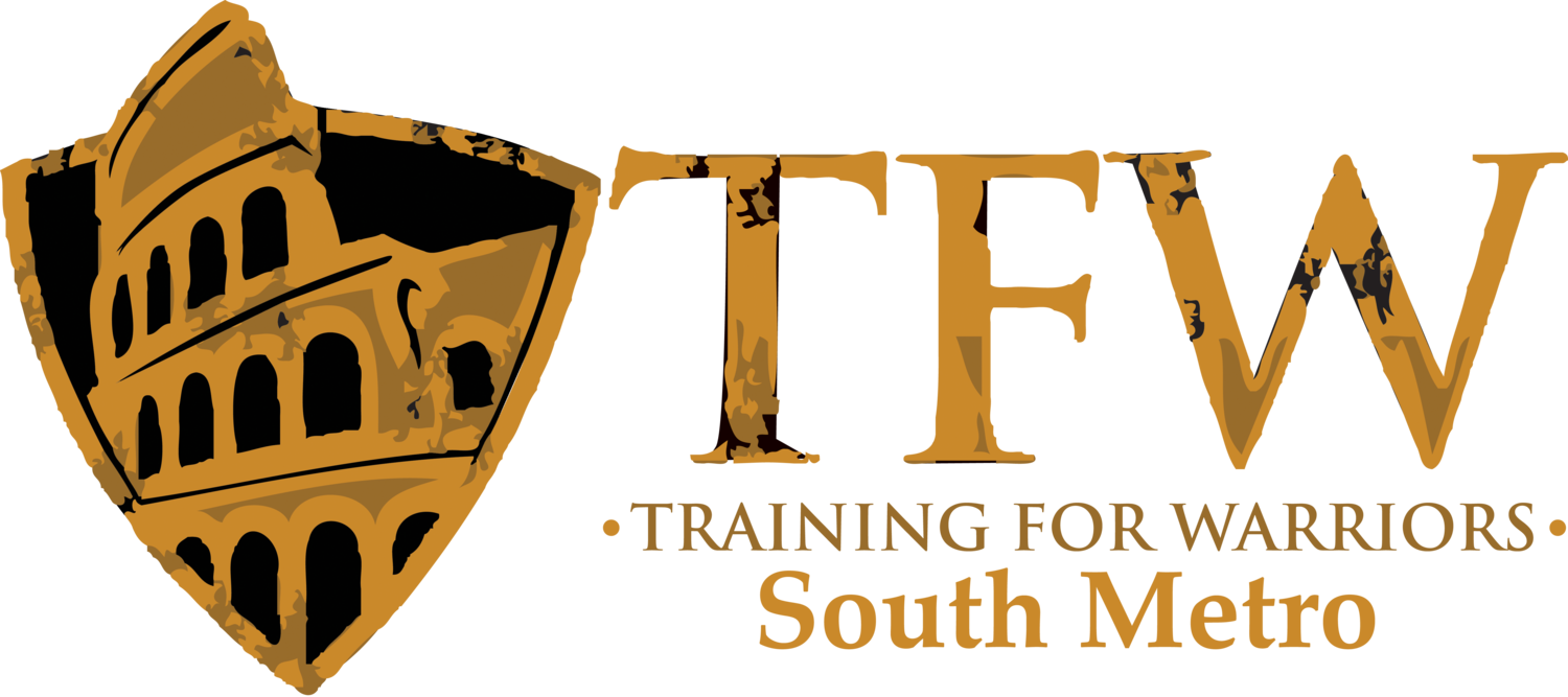Training schedule tfw south. Warrior clipart font