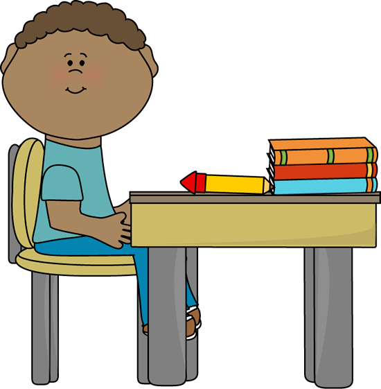 Sitting in . Class clipart transparent