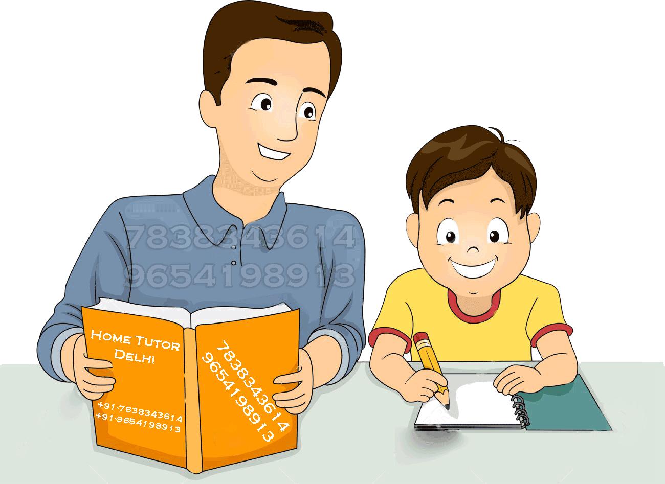 Teach clipart tutoring. Home tuition in delhi
