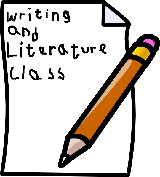 Cover clip art at. Clipart writing class writing
