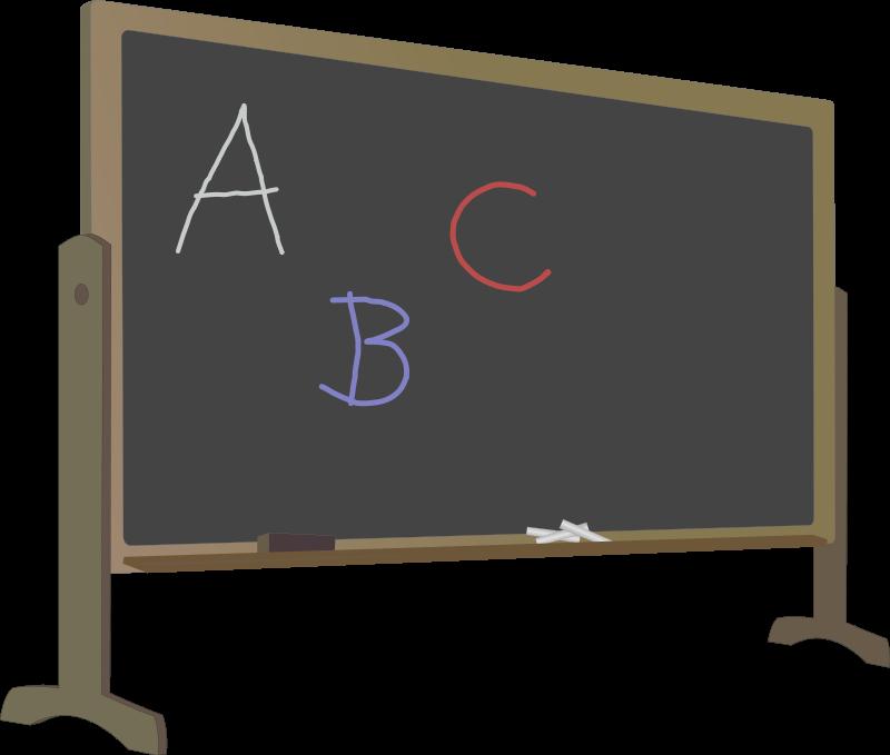 Free back to school. Pumpkin clipart chalkboard