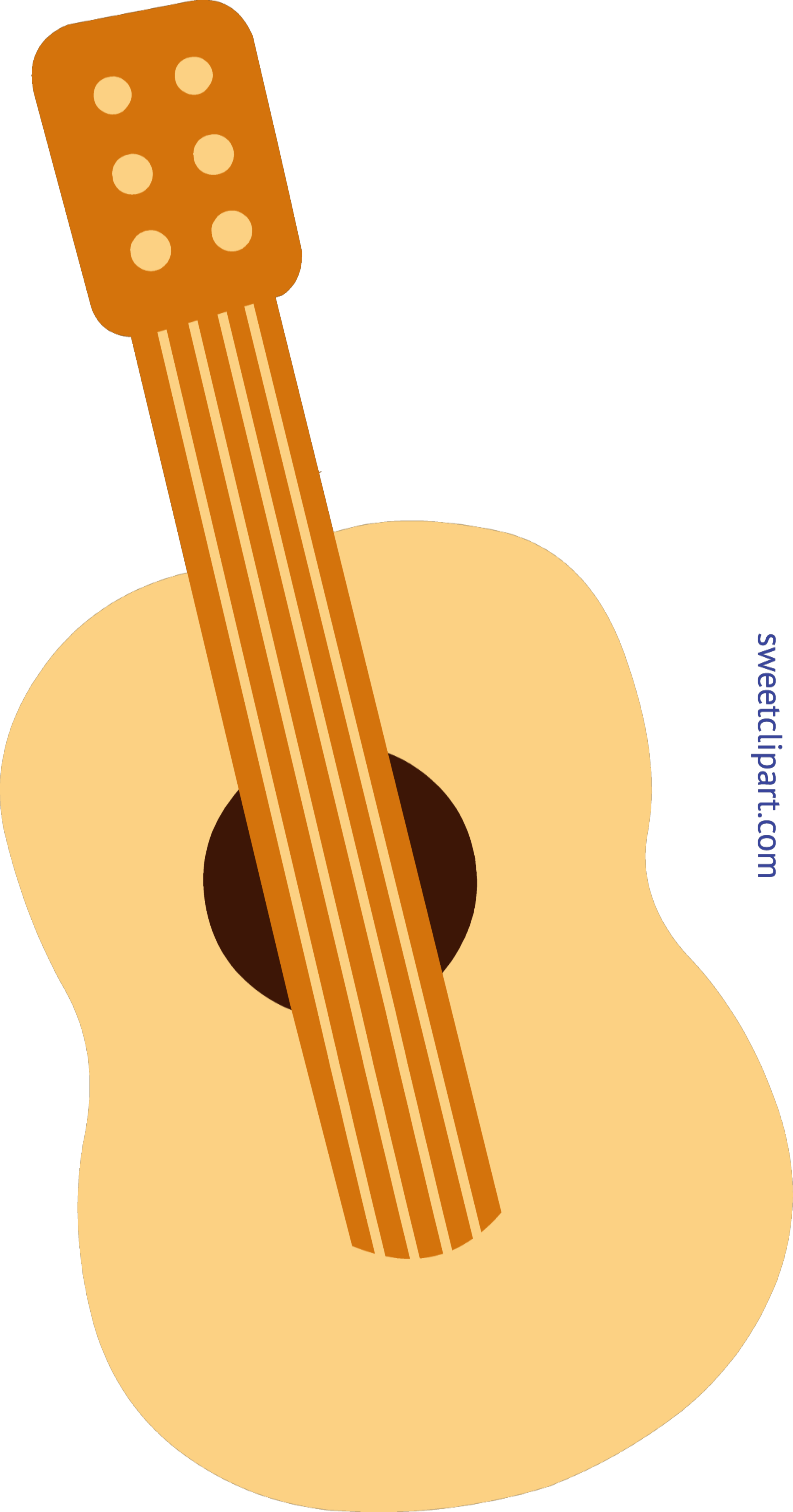 Clipart guitar box. Mini cute clip art
