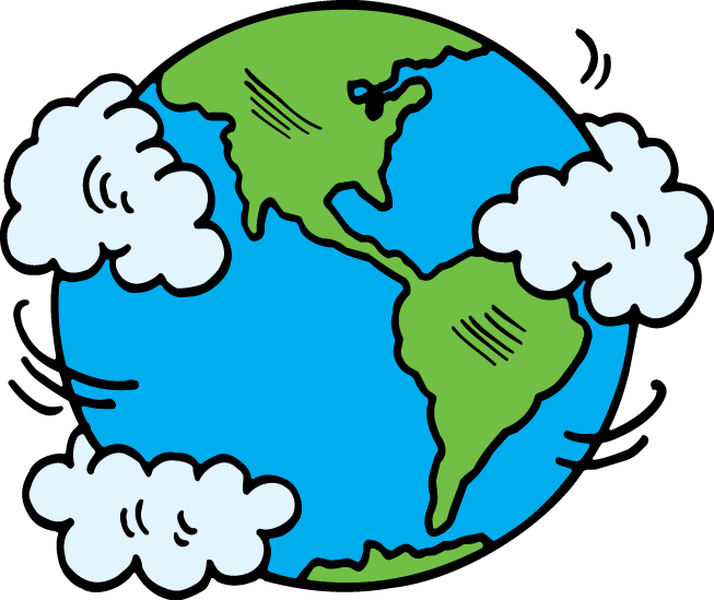Best of science to. Life clipart earth planet drawing