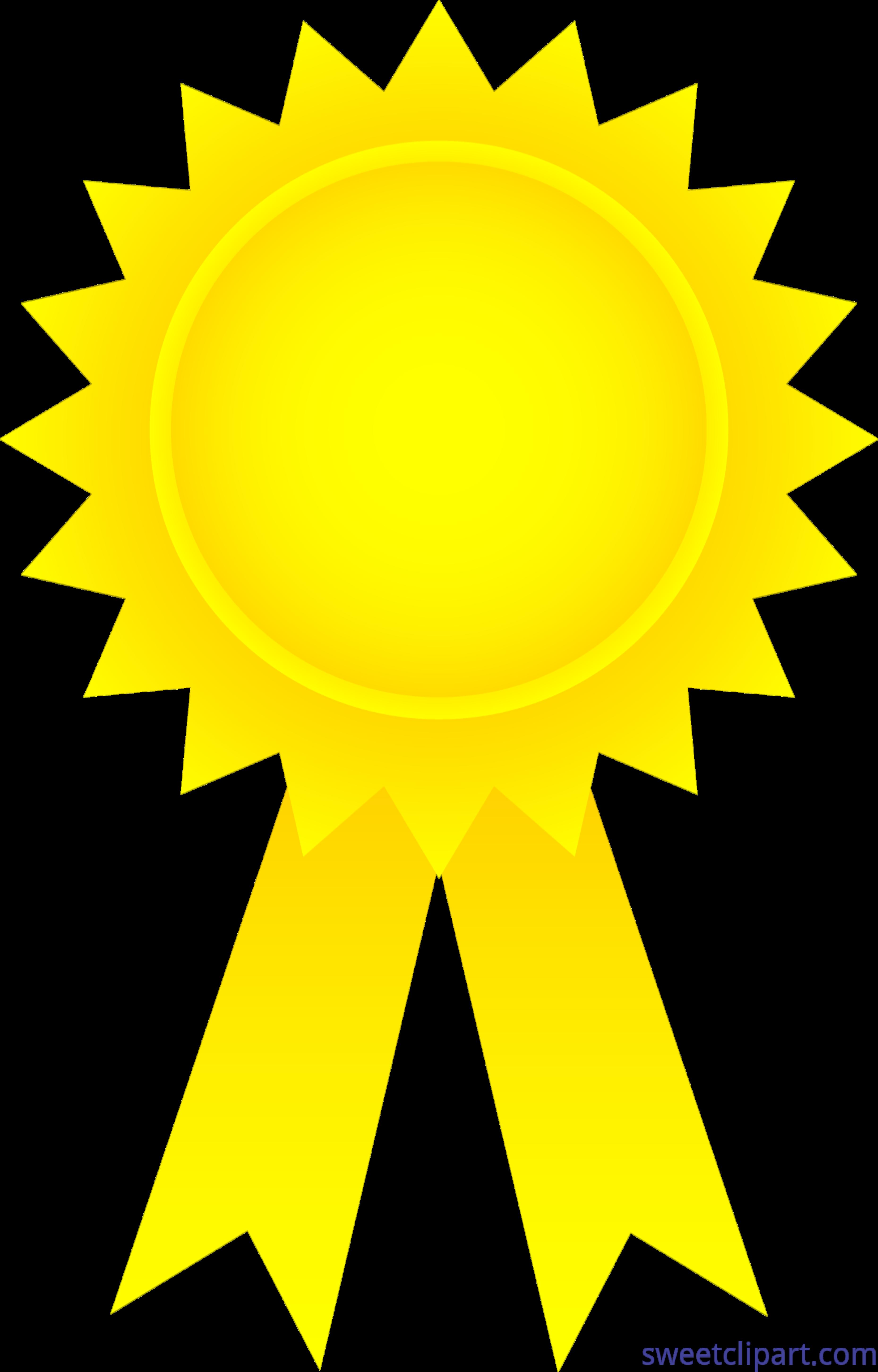 Award gold clip art. Music clipart ribbon