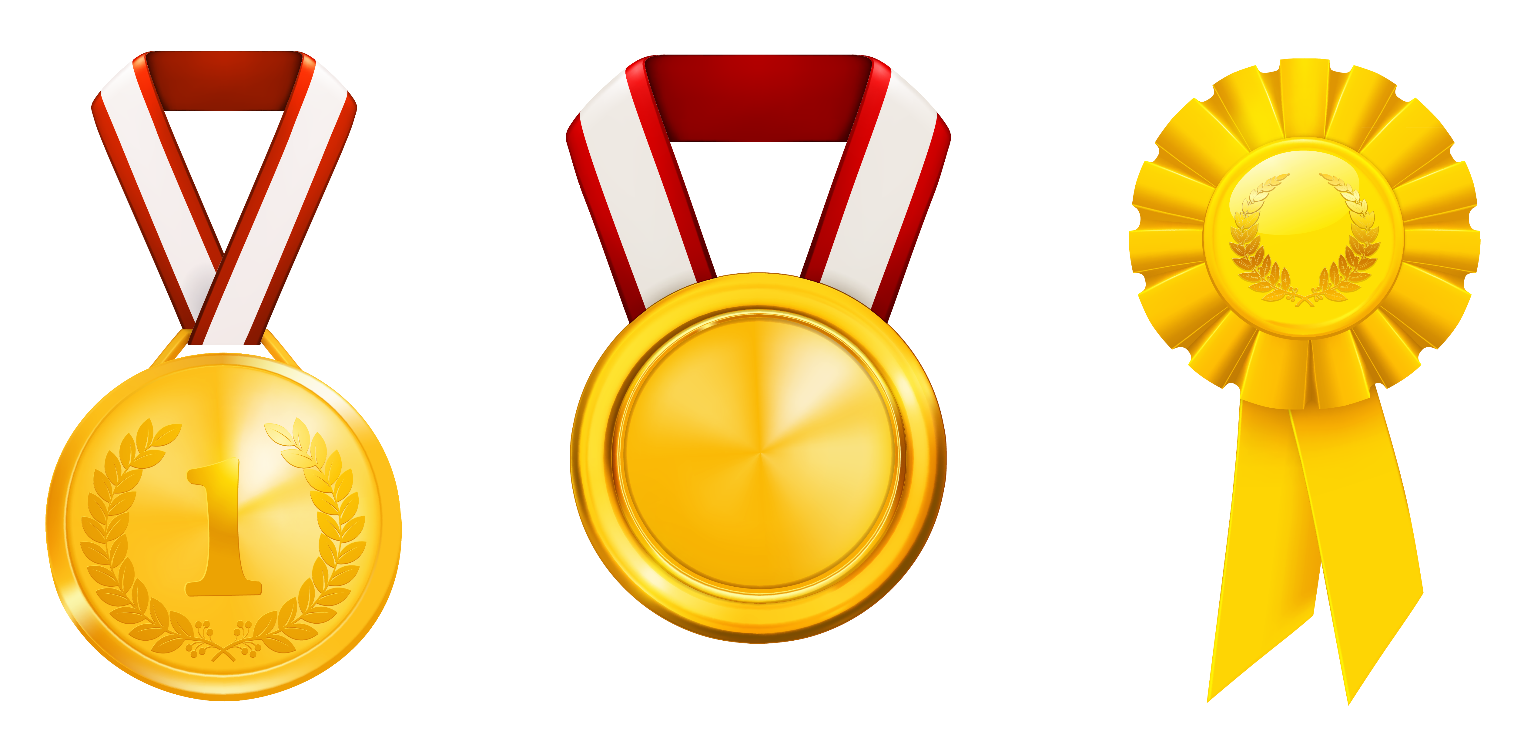 Prizes honors set png. Ladder clipart golden