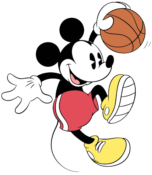 Clipart boy basketball player. Disney clip art galore