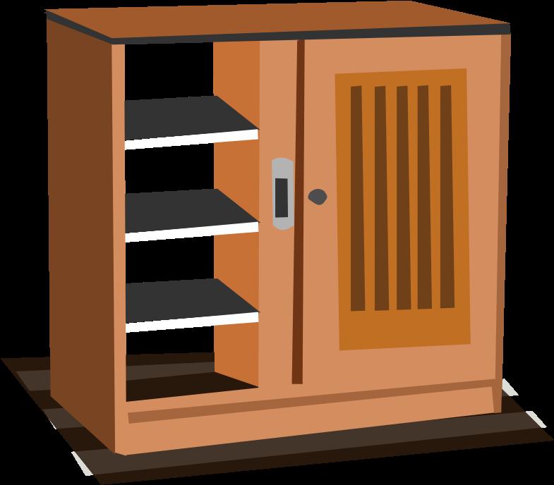 Classroom clipart cabinet. Closet images clip art
