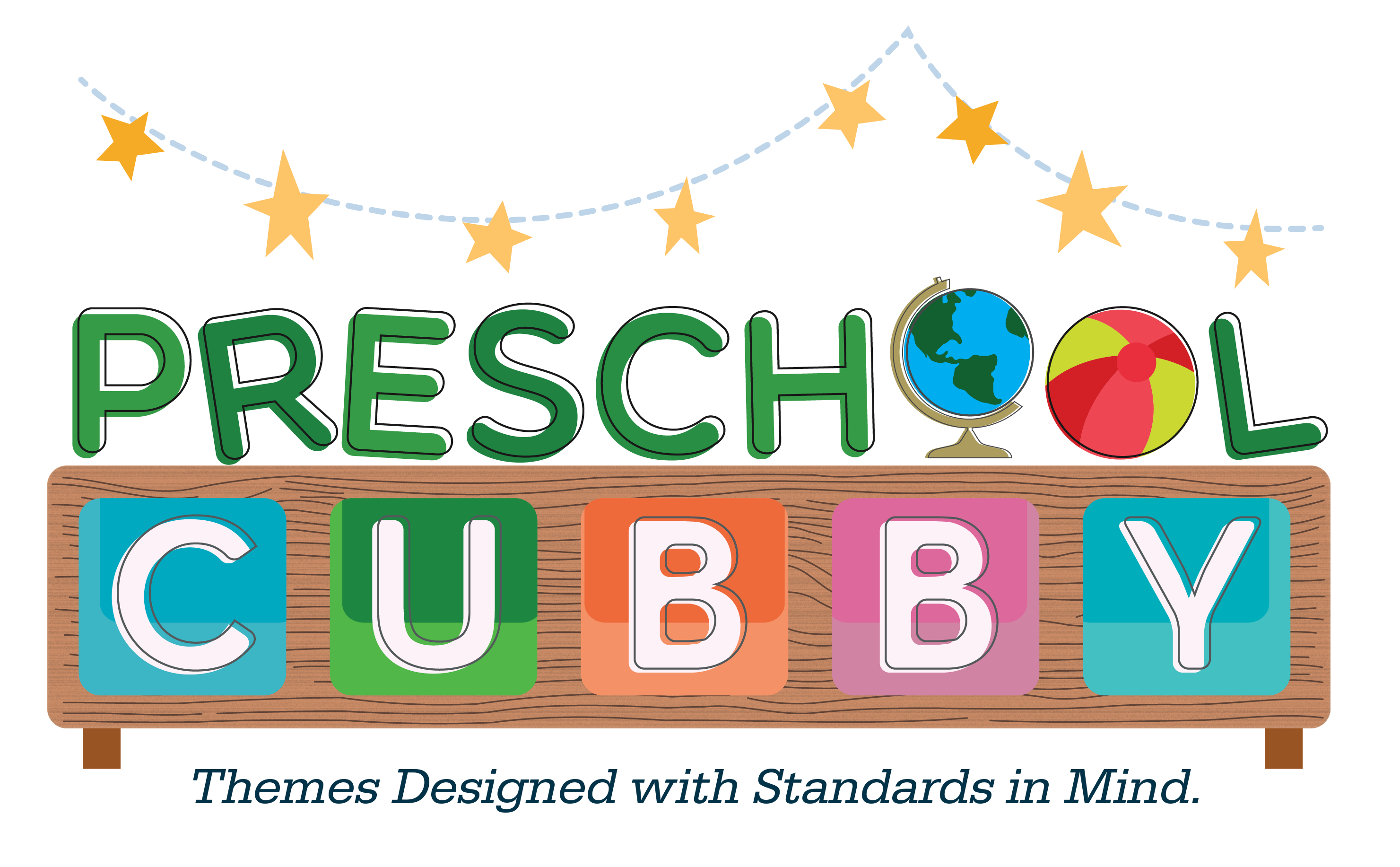 Playdough clipart preschool. Introducing cubby themes designed