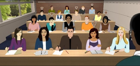 College clip art library. Classroom clipart classroom discussion