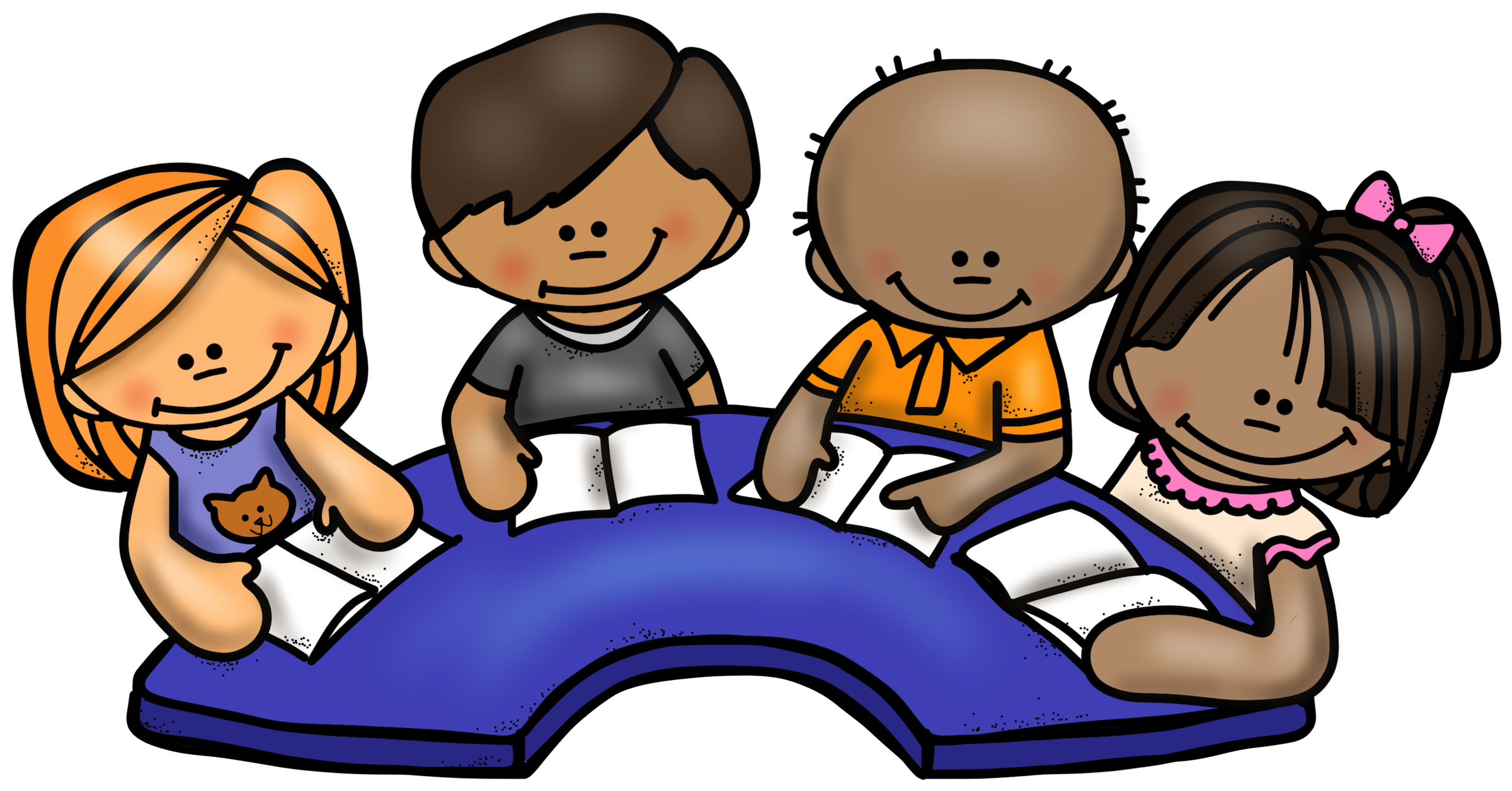 Kindergarten home p s. Clipart reading guided reading