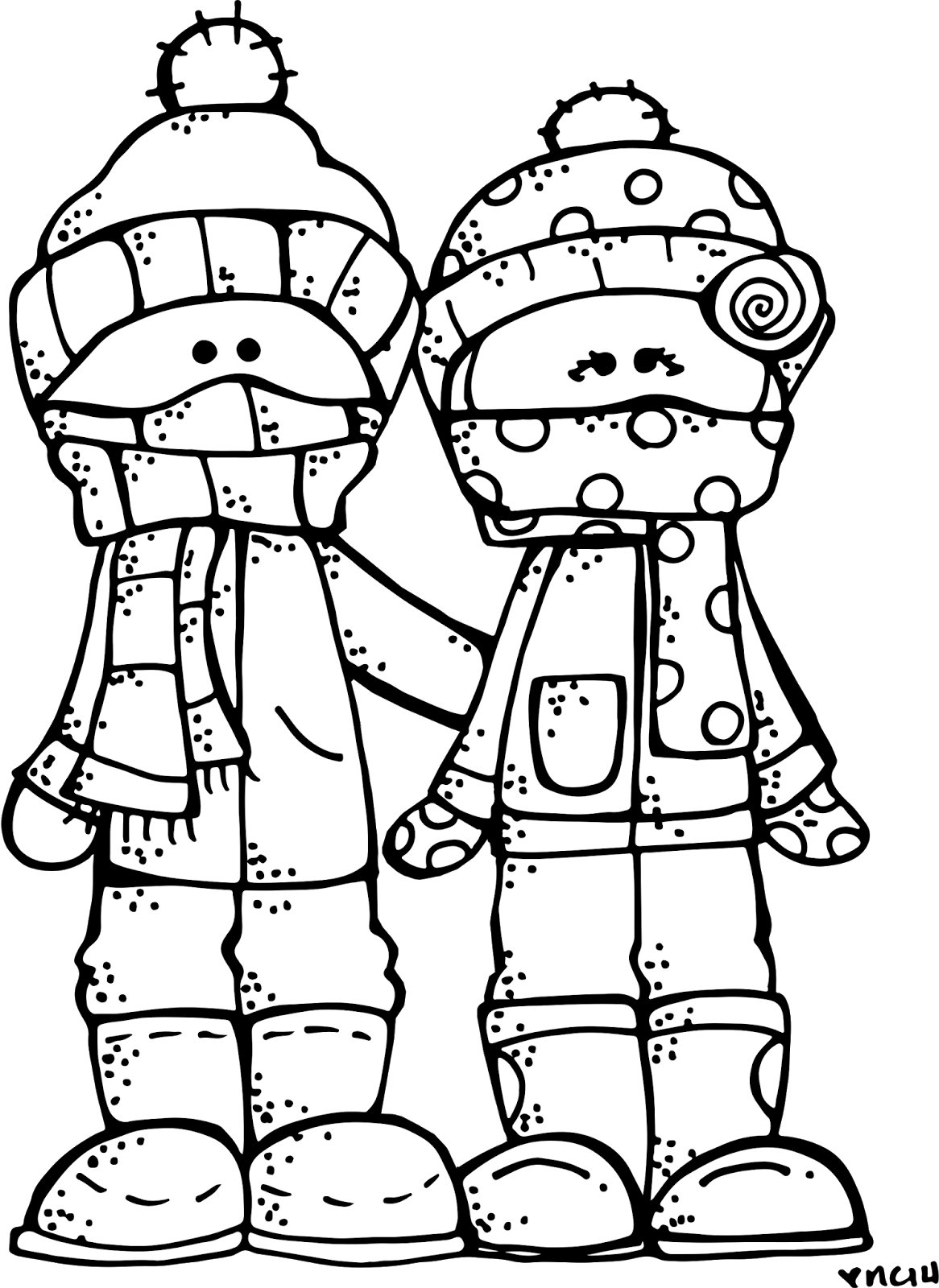 Melonheadz lds illustrating winter. Mittens clipart cold weather clothes