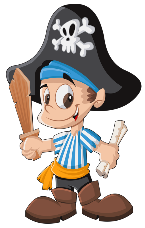 Treasure clipart rock. Pirate dibujos colores pinterest