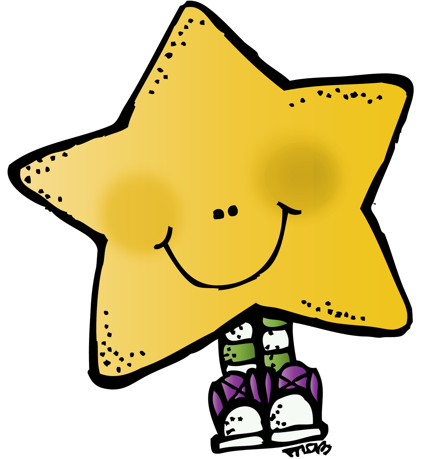 How do you help. Lds clipart star
