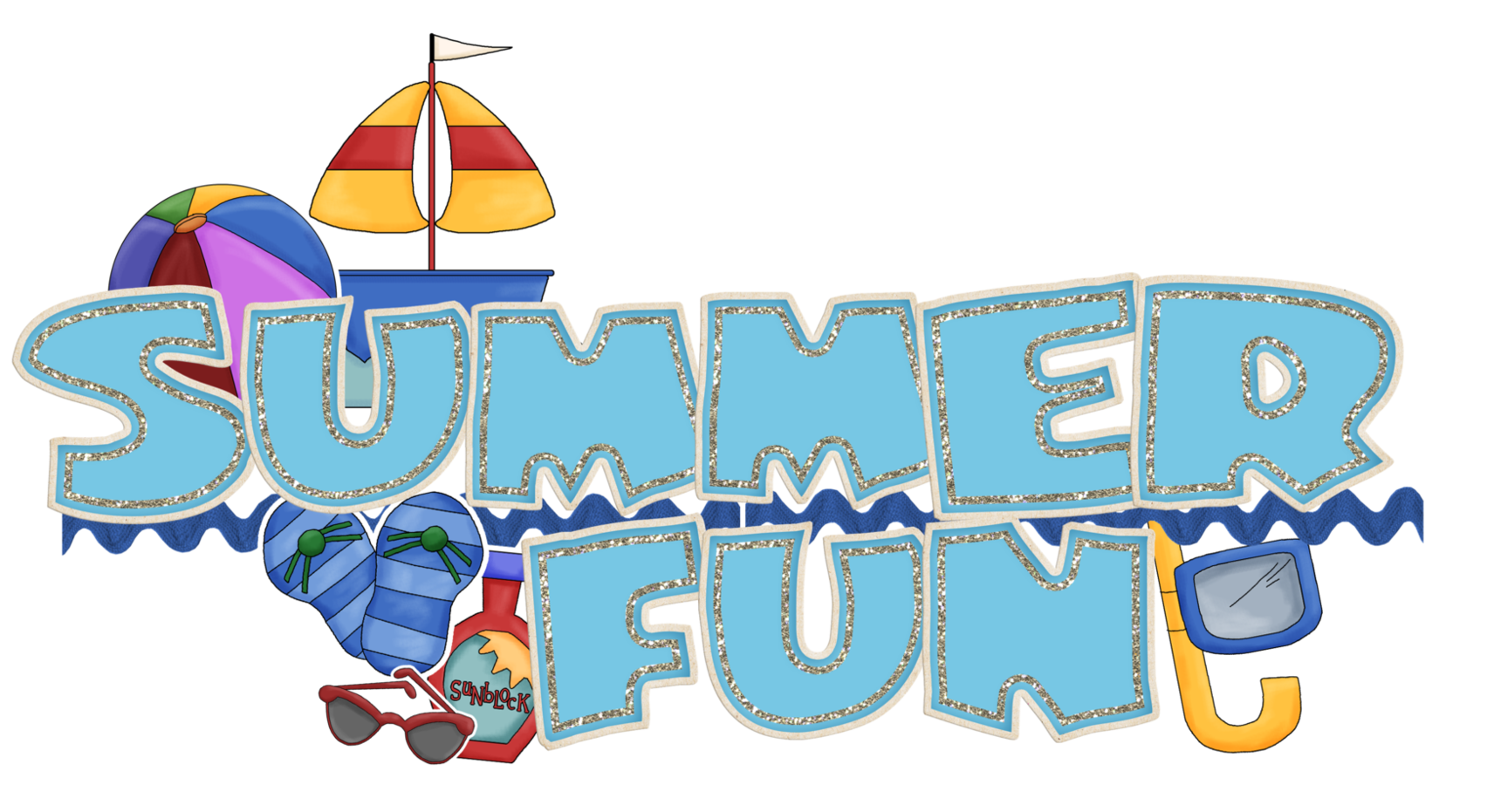 Image result for summer holidays clipart