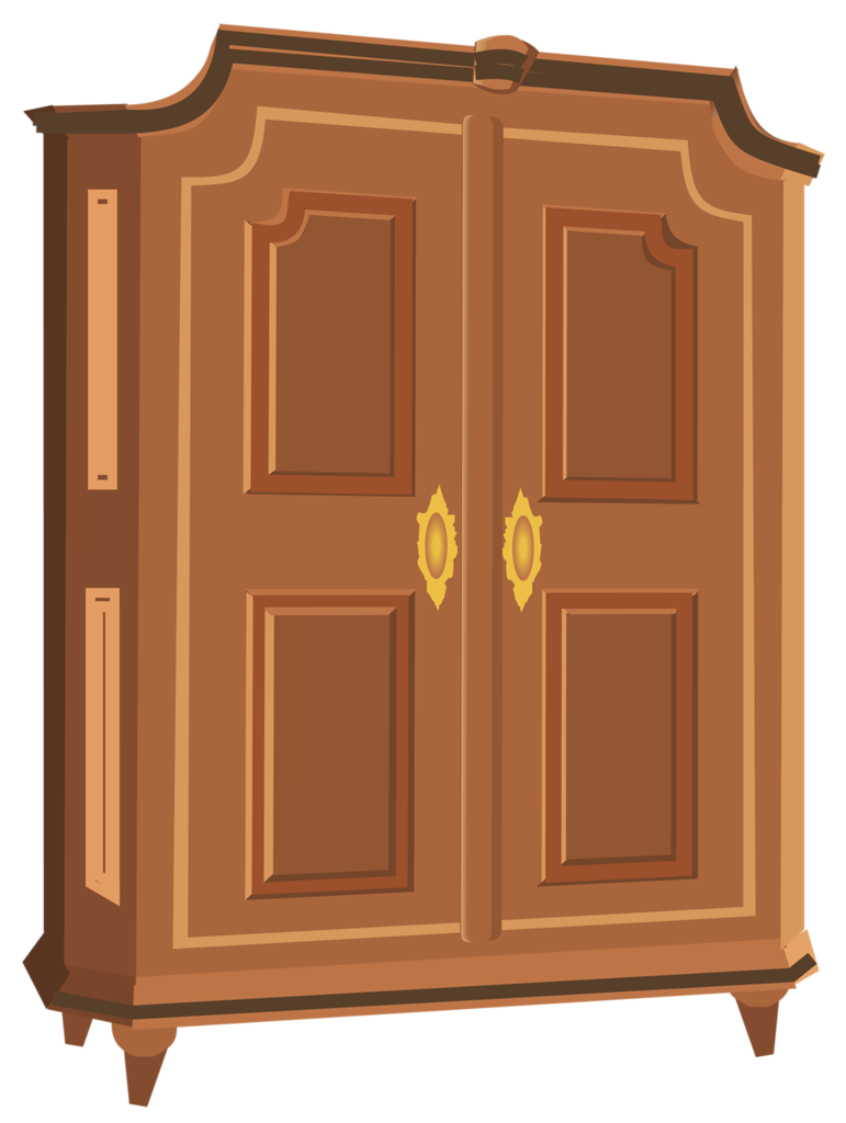 Armoire png pinterest art. Furniture clipart wardrobe