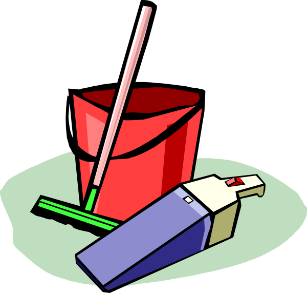 Cleaning clip art images. Facebook clipart artwork