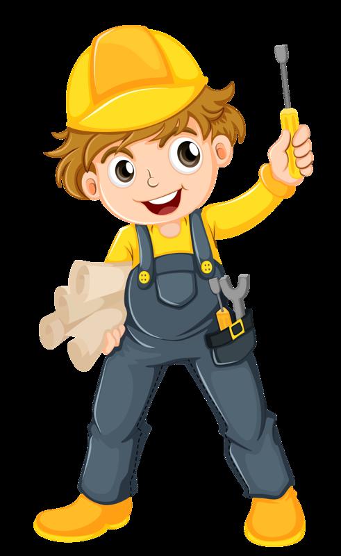 Female clipart handyman. Image du blog zezete