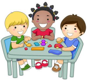 Knoxville mdo daycares and. Playdough clipart preschool