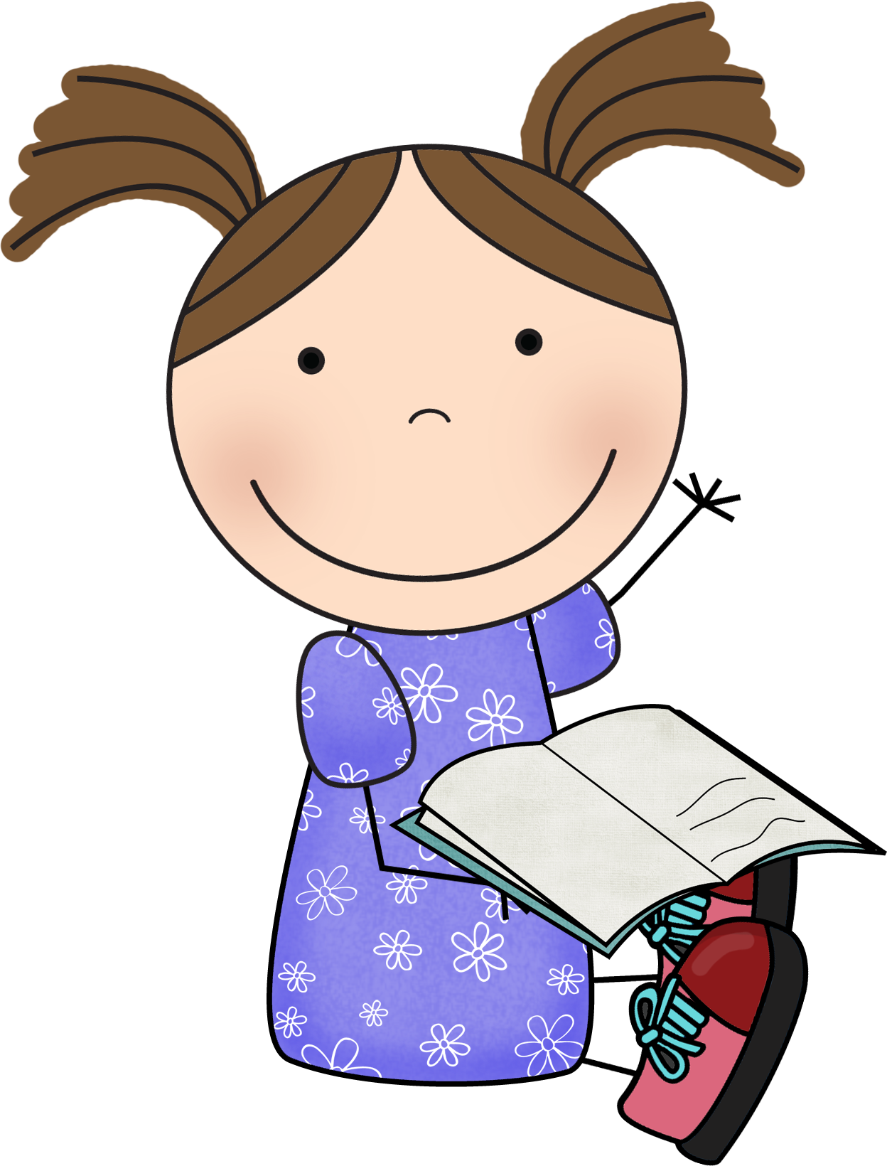 Organized clipart library rule. Reading susie png behavior
