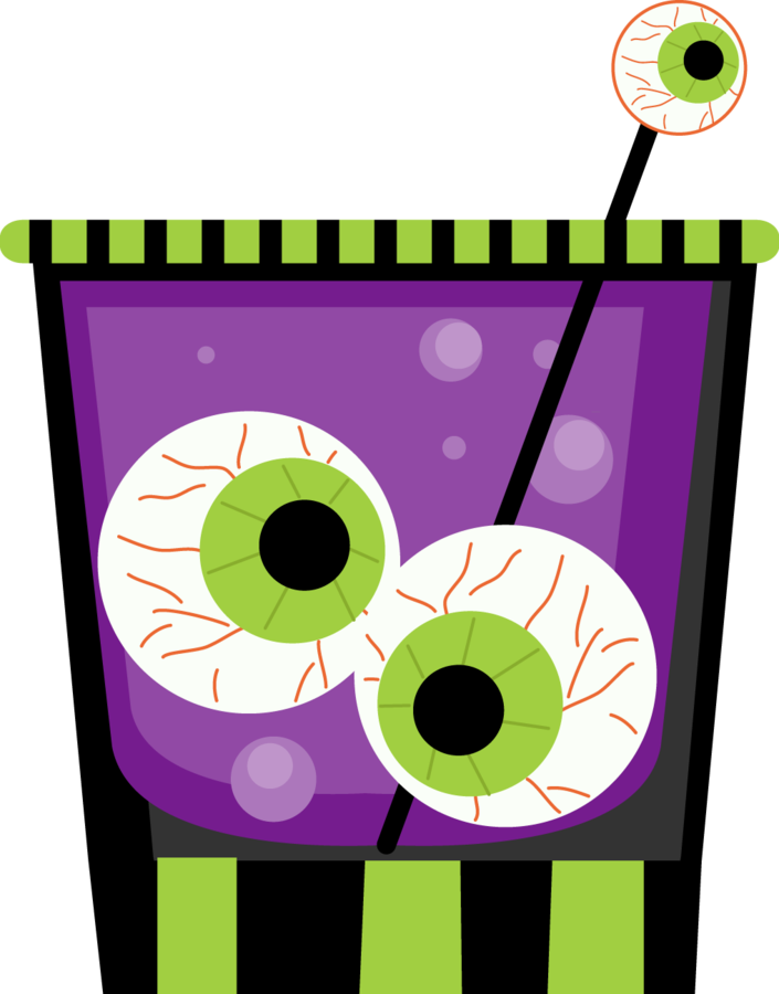 Costume clipart halloween candy bag. Drink clip art