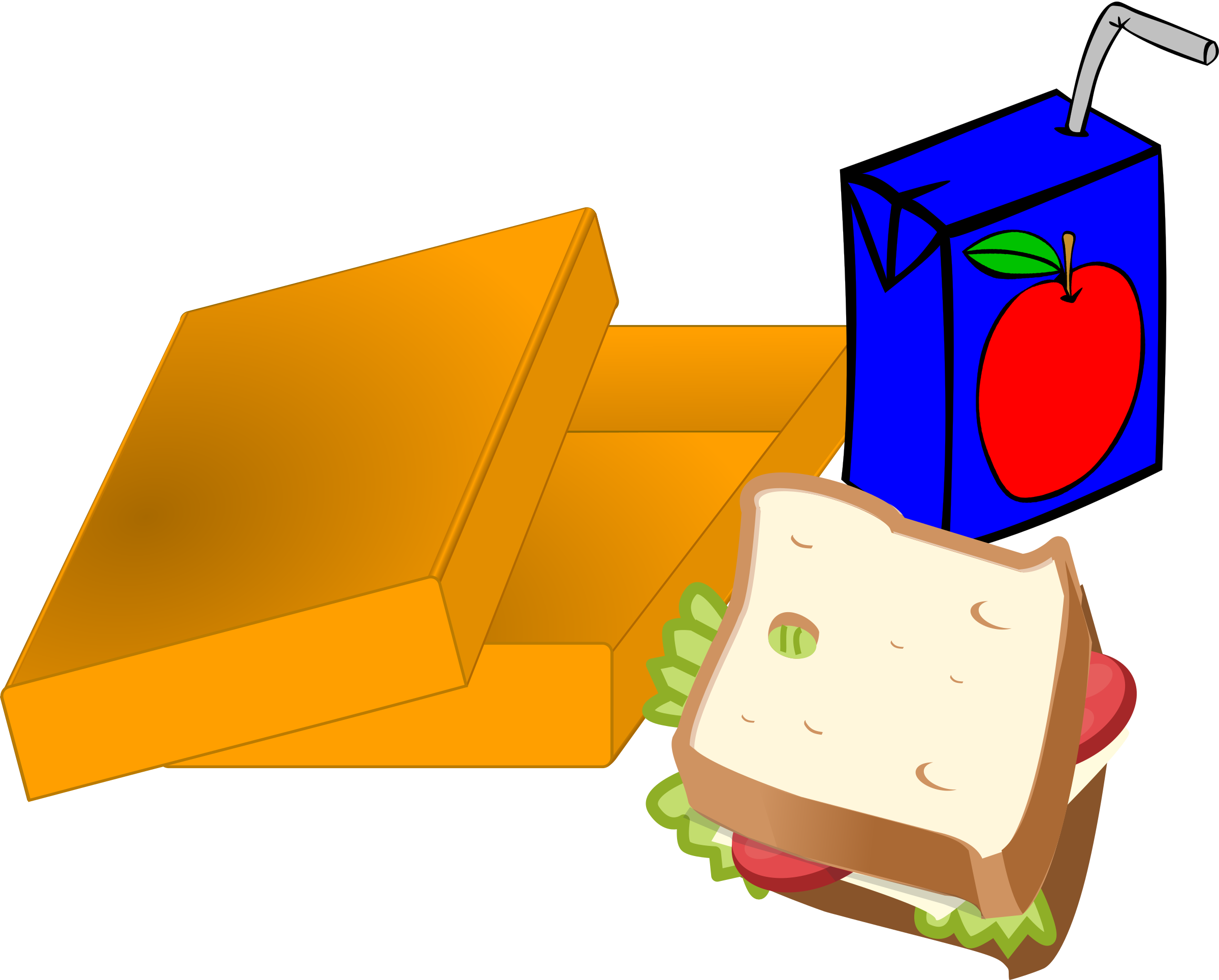 Clipart lunch sandwich lunch. Brainstorming sessions for elementary