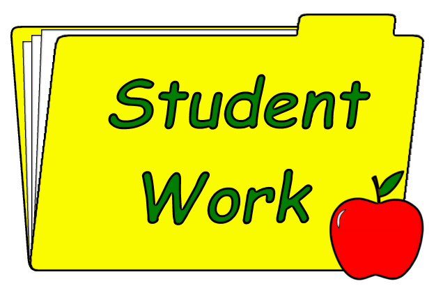 Working clipart class work. Free classroom folder cliparts