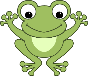 Frogs clipart sign. Cute best symbol number