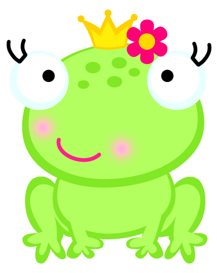 Clipart teacher frog. Minus say hello templates