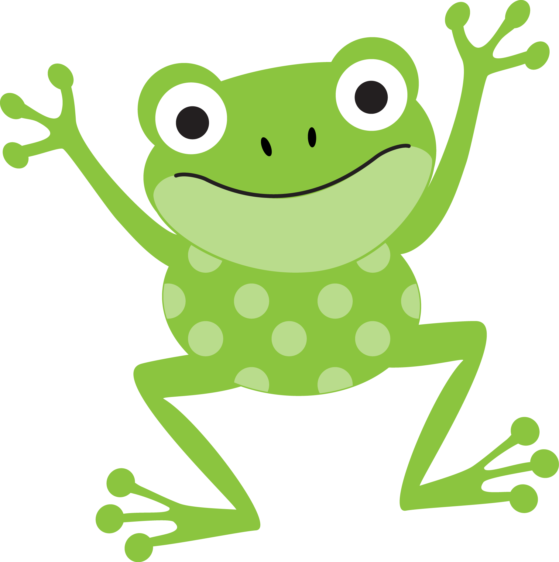 frogs clip art. Excited clipart ng tao